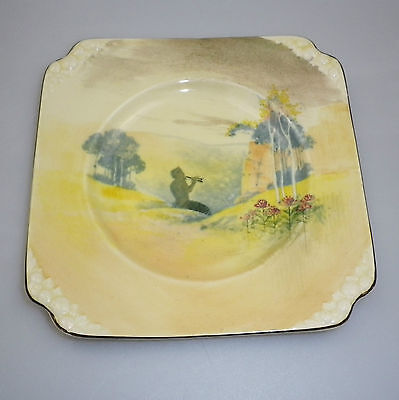 "Royal Doulton Series Ware ""PIPES OF PAN "" Pattern""  Plate"