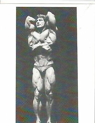 FRANK ZANE Mr America Muscle Bodybuilding Photo B+W #A2