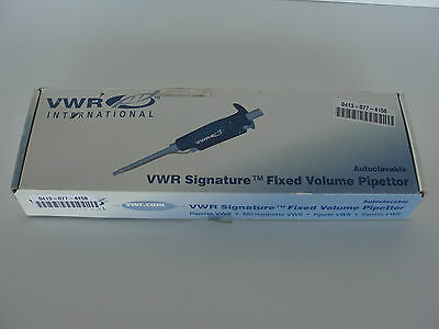New Vwr 83009-776 Fixed Volume Pipettor 1000Ul