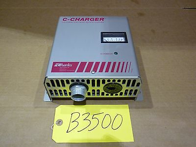 Charles C-Charger Industrial Electronic Forklift Battery Charger