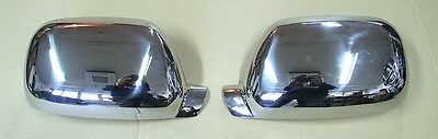 Chrome Wing Mirror Covers Vw Touareg 2002-11.2006 Stainless Steel