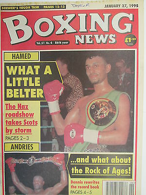 Boxing News 27 Jan 1995  Hamed Castro Schwer Ruelas Andries Browne Ali Forbes