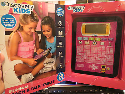 Discovery Kids Bilingual 'Teach and Talk' Tablet - Pink