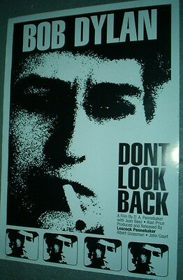 BOB DYLAN Don't Look Back RARE AUS PROMO POSTER