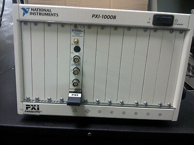 National Instruments NI PXI-1000B & PXI-5112