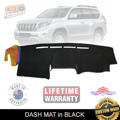 DASH MAT to Suit Toyota Prado 150 Series FACE LIFT 10/2013-16 GX GXL DM1334 BLCK