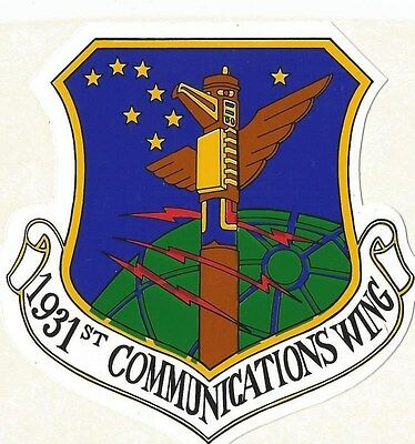 Air Force - 1931st Communications Wing Sticker