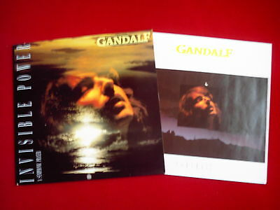 GANDALF -  Invisible Power- A Symphonic Prayer - LP 1989 (CBS)