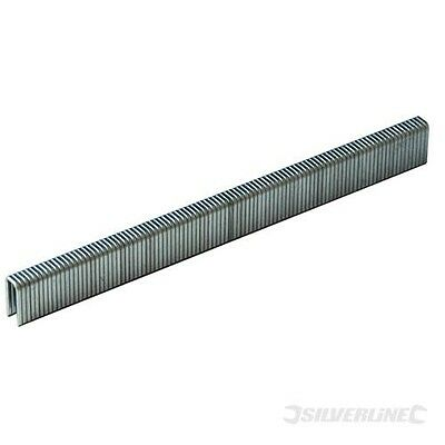 Silverline Tackerklammern, Typ 90, 5000er-Pckg. 5,5 x 10 mm