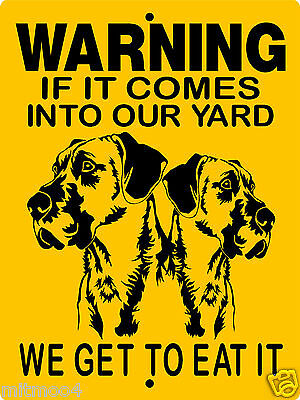 "GREAT DANE  SIGN,GREAT DANE,9""x12"" ALUMINUM SIGN,DOGS,WARNING,GUARD DOG  2652GD2"