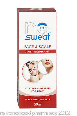 NO MORE SWEAT Face Anti-perspirant ::Stop Sweating for 4 Days:: Guaranteed: