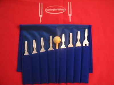 Economy Good Quality 8 Student Tuning Forks +Pouch++