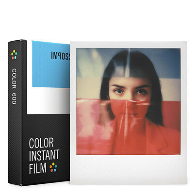Impossible Project Color Film for Polaroid 600 Type Camera PX680 Instant PRD2785