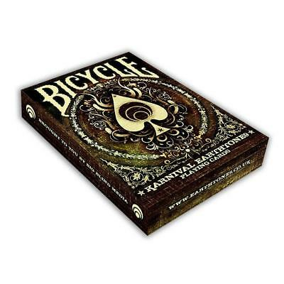 Karnival Earthtone9 Deck - Bicycle Playing Cards