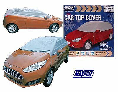 Maypole Car Top Cover Hatchback Water Resistant Nylon Frost Protection250x120x50
