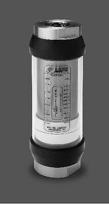 Lake Monitor Hydraulic Oil Flow Meter 5-50GPM 3000psi Visual Monitor #16ORB Port