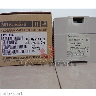 Mitsubishi FX2N-4DA FX2N4DA Programmable Controller PLC New in Box Free Ship
