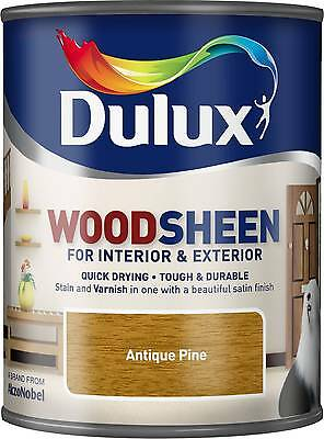 Dulux Woodsheen - Antique Pine - 750ml - Interior & Exterior - Woodstain