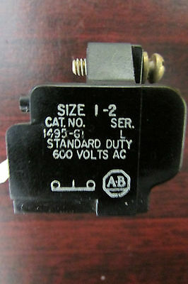 ALLEN BRADLEY 1495 G1 Auxiliary Contact