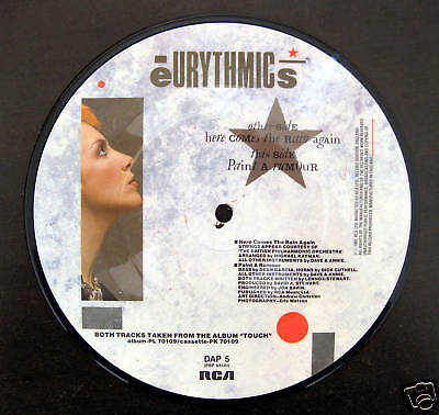 Eurythmics  / Picture Vinyl / Limited / Rarität /