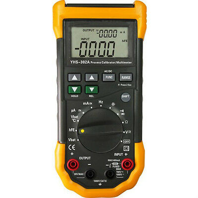 YHS-302A Multifunctional Signal Loop Process Calibrator Meter With Multimeter