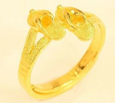 22k gold sandal ring from Thailand #32
