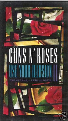 VIDEO----Guns n Roses--------Selten----------
