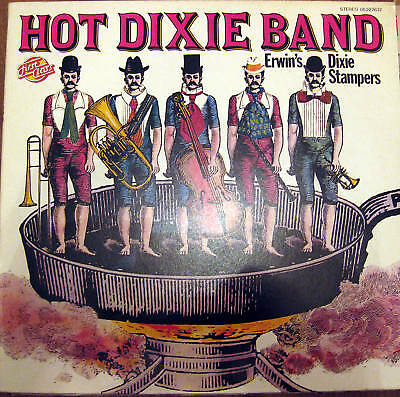Lp / Erwin's Dixie Stampers / Hot Dixie Band / 1976 /