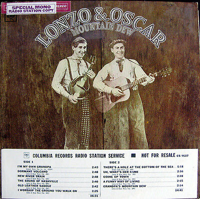 Lp / Lonzo And Oscar / Demo / Usa / Not For Sale / Mint / Rar / Top Copy /