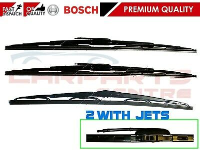 For Mercedes Vito V Class W638 97-03 Wiper Blades Front With Washer Jets & Rear