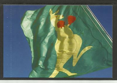 AUSTRALIA 2004 BOXING KANGAROO POSTCARD - The Boxing Kangaroo FLAG
