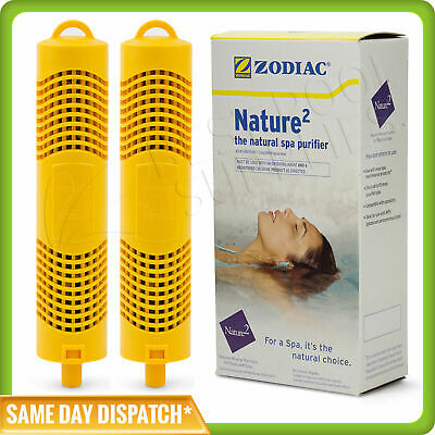 2 X Zodiac Nature 2 Spa Stick. N2 Spa Water Treatment Sanitiser Purifier Genuine