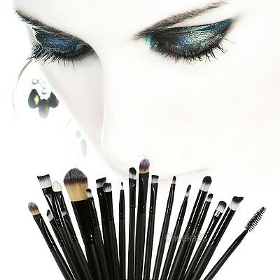 Pro Makeup 20pcs Brushes Set Powder Foundation Eyeshadow Eyeliner Lip Brush Tool