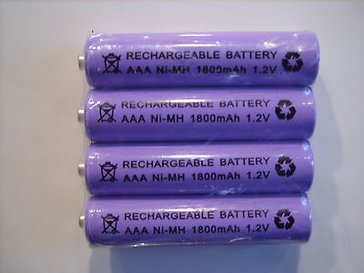 BT SYNERGY 4100 / 4500 -  4x 1.2V 1800 mAh RECHARGEABLE BATTERIES