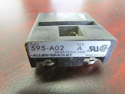 Allen Bradley 595 A02 Series A Contact Block