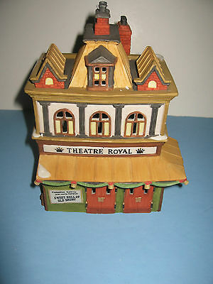 Dept 56 Dickens Village Theatre Royal 55840 Mint in Box Retired Building