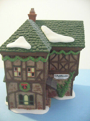Dept 56 Dickens Village T. Puddlewick Spectacle Shop 58331