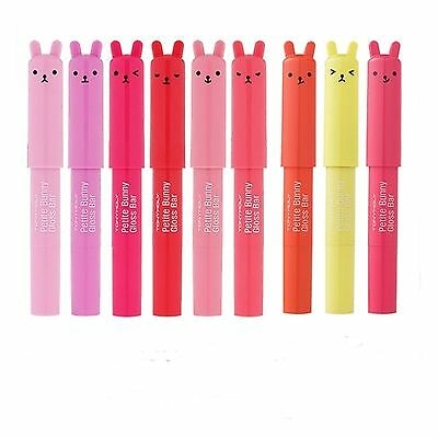 Tonymoly Petite Bunny Lip Gloss Bar 2g 5 Flavors - Free Shipping (US Seller)