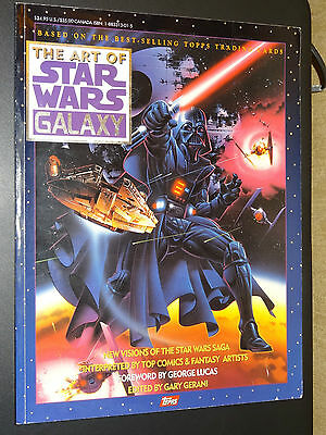 THE ART OF STAR WARS GALAXY - First Edition - 1993