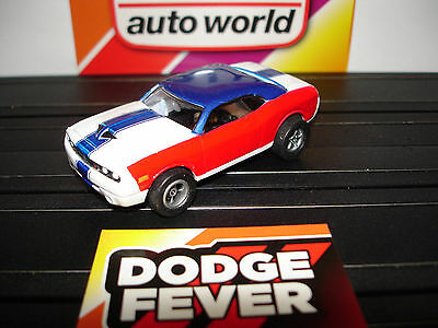 AUTO WORLD ~ DODGE CHALLENGER CONCEPT ~ NEW IN JEWEL ~  ALSO FITS AW, AFX, JL