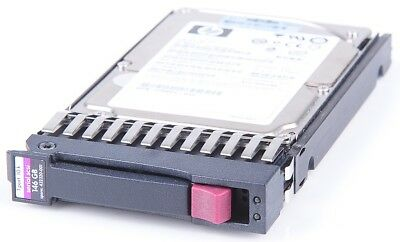 "HP 146 GB 10K SAS 2.5"" Hot Swap Festplatte für ProLiant Server 432320-001"
