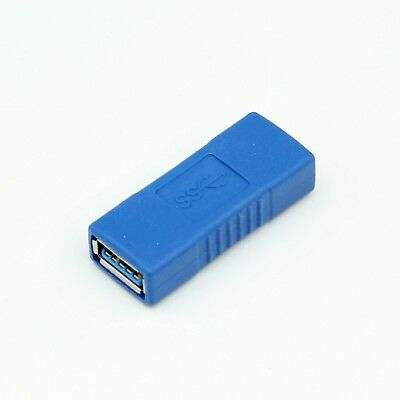 NEW USB 3.0 A Female to Female Converter Adapter Connector Joiner Coupler Cable