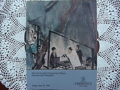Christie's Fine Chinese Paintings and Calligraphy June 29 1984 New York