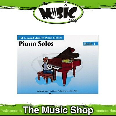 New HLSPL Piano Solos Book 1 - Hal Leonard Student Piano Library