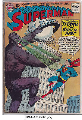 Superman #138 © July 1960 DC Comics     g/vg
