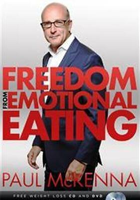 Freedom From Emotional Eating by Paul Mckenna NEW FREE Weight-Loss CD & DVD