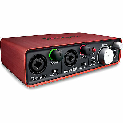 Focusrite Scarlett 2i2 - Portable USB Audio Interface