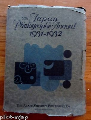 """japan Photographic Annual""  ""1931-1932""  ""asahi Shimbun Publishing""  ""japanese"""