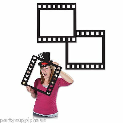 Hollywood FILMSTRIP PHOTO Party FRAMES (5 COUNT) Photo Booth PARTY FUN