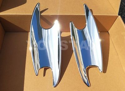 UK STOCK x2 CHROME Door Handle Cups Bucket Covers for Mercedes SLK Class R171